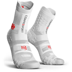 Compressport Pro Racing V3.0 Trail Socks White